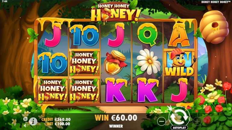 Honey honey honey хани игровой автомат букмекер