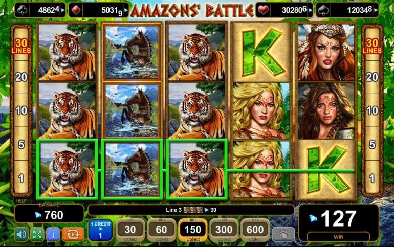 Ставках amazons battle битва амазонок игровой автомат владимир