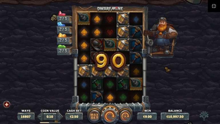 Ставок dwarf mine шахта гномов игровой автомат
